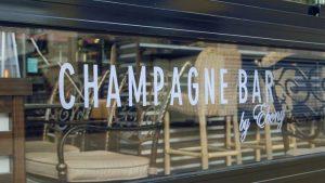 Ebony Champagne Bar Fixed Structure