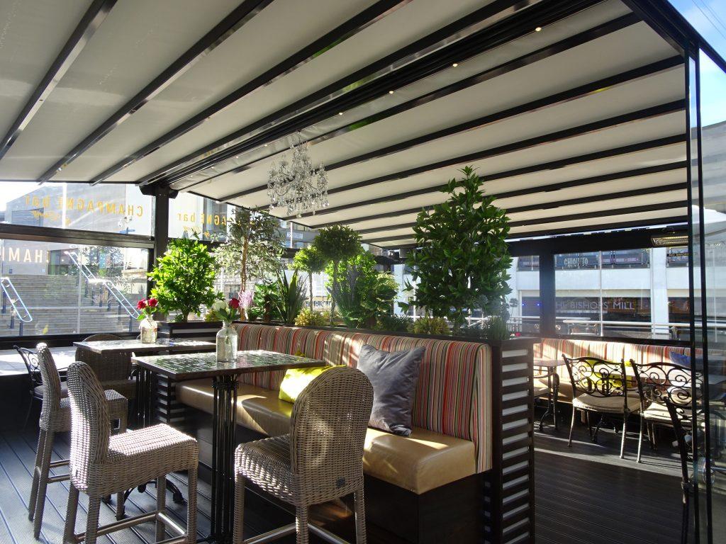 Ebony Lounge, Pergotex Fixed Structure, Durham Instant Finance
