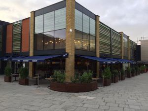 Carluccio's, Chelmsford, Awnings